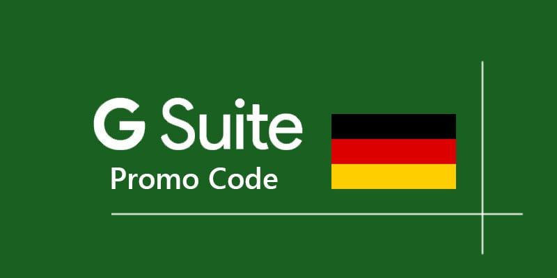 g suite promo code germany