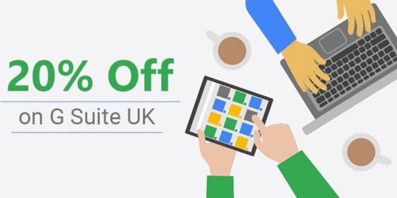 g suite UK promo code