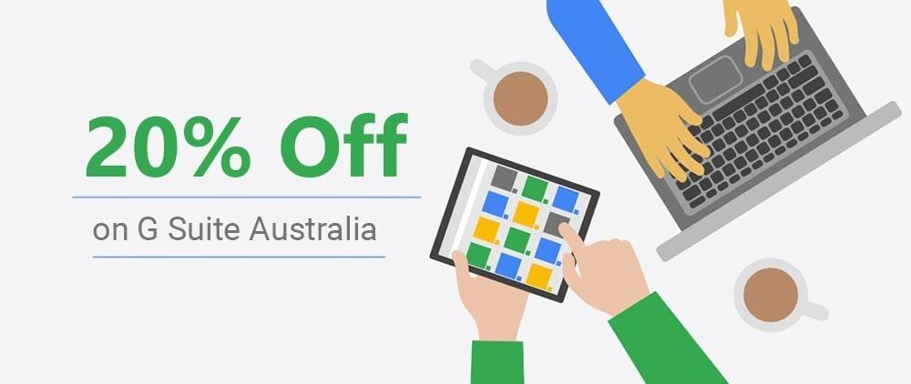 g suite Australia promo code