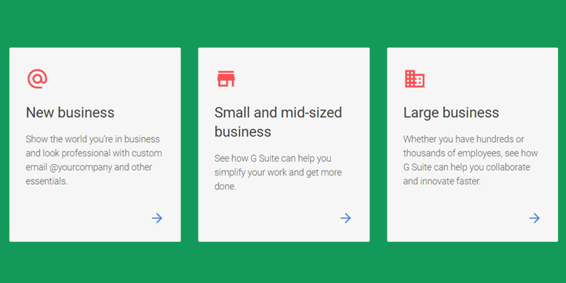 affordable Google Workspace plans for small business and enterprise