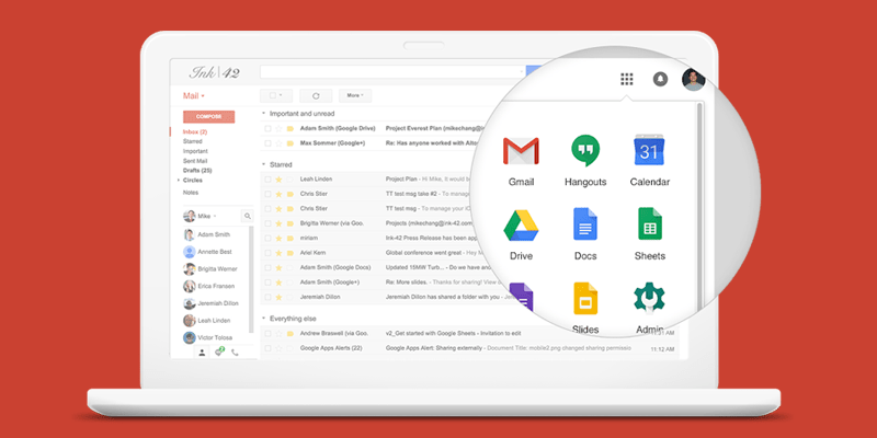Google Workspace supported apps and features