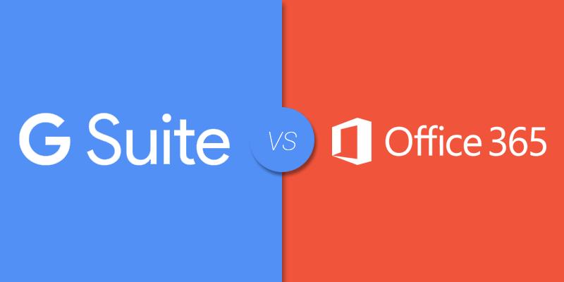 g suite vs office 360