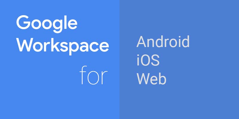 google workspace is compatible with different devices