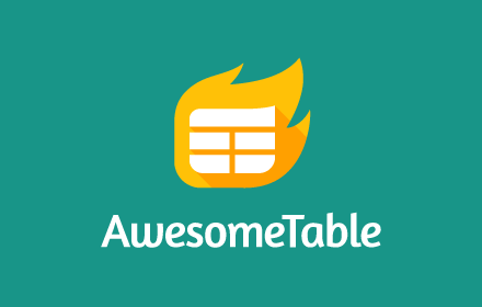 awesome table g suite best marketplace app
