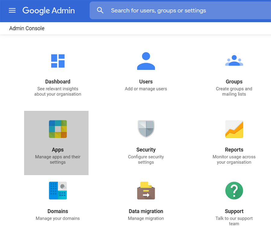 g suite admin spam protection