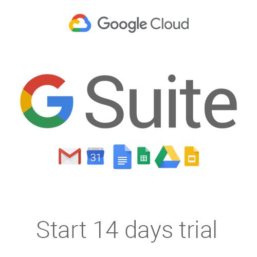 g suite trial