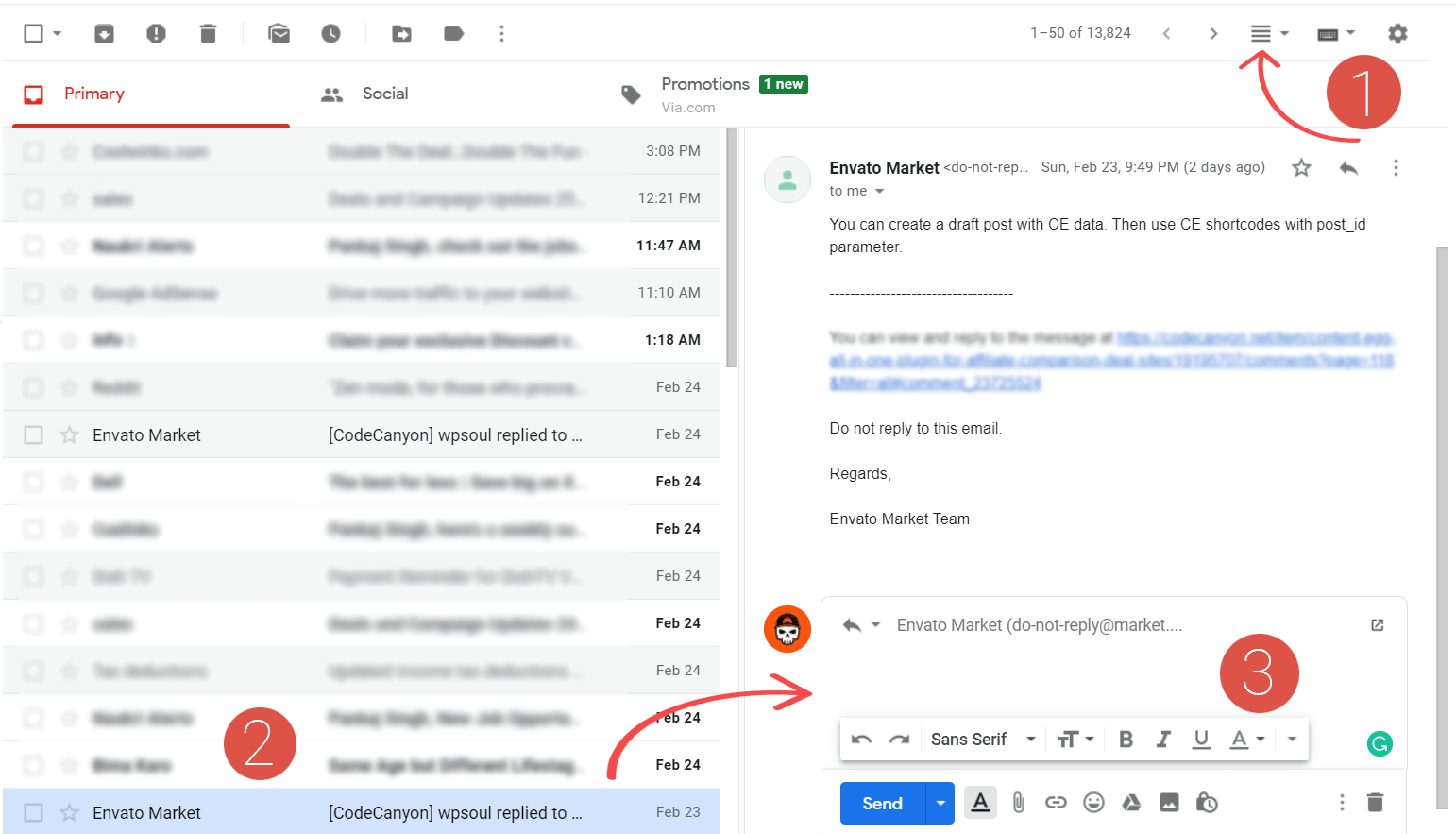 enable gmail preview panel feature