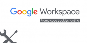 google workspace promo code error and troubleshooting