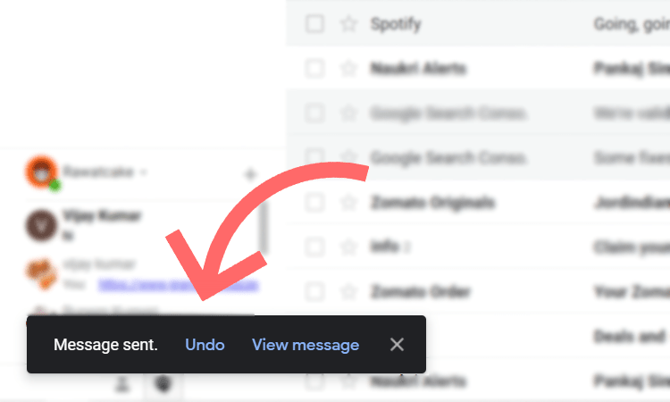 undo emails in gmail