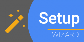 Google Workspace setup wizard