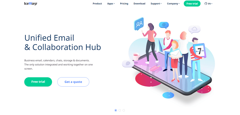 Icewarp email for small business