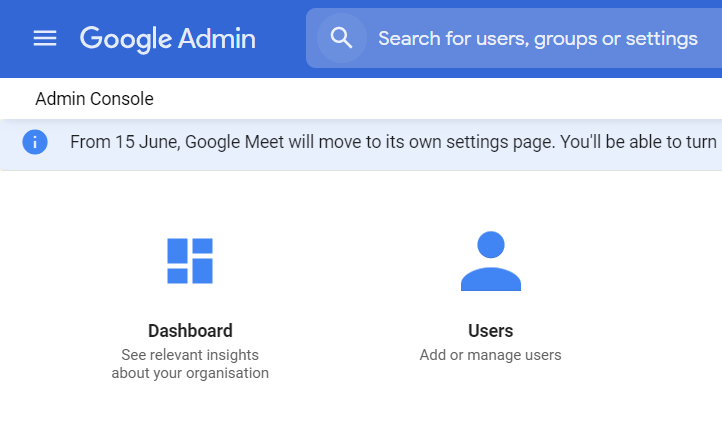 create more G Suite email users