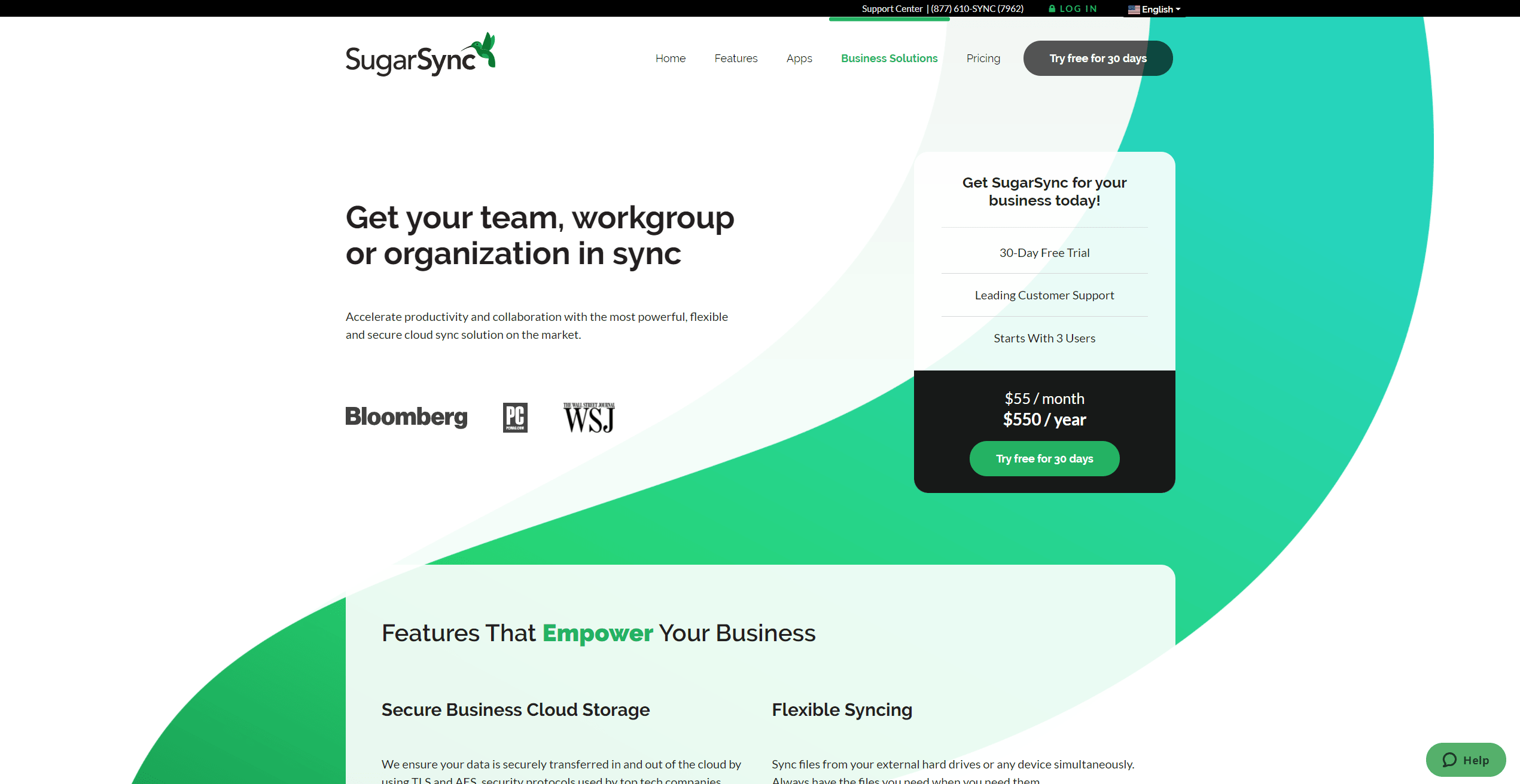 SugarSync Business cloud storage